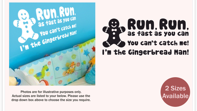 run run as fast as you can gingerbread man